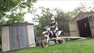 10. 2009 KTM 200 XC