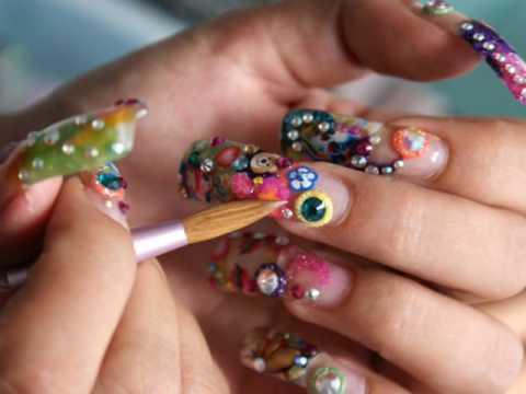 Imagenes de las mejores uñas decoradas, recopilacion. Fotos diseño de uñas acrilicas y de gel