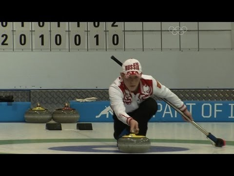More knockout action from the Curling Mixed Doubles