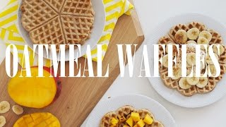 These easy&delicious oatmeal waffles are ideal for weekend breakfast! Give them a try. NEZABUDNITE SA ZAPOJIŤ DO GIVEAWAY: https://youtu.be/TJk-YmX_kiI Beaut...