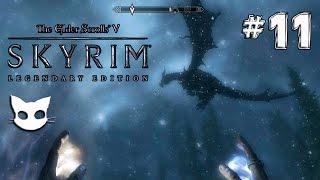 Skyrim, #11 Маг, Сложность легендарная, Дракон Салокнир