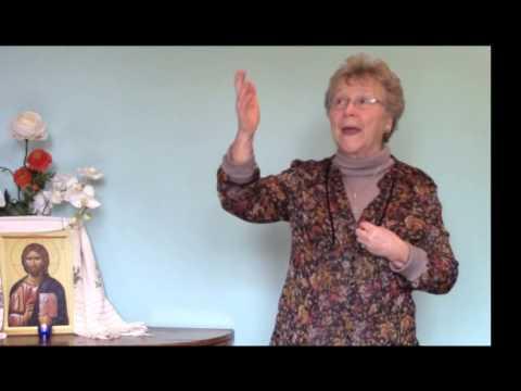 Hélène Séjournet : Apprendre par coeur l'Evangile - 1ère partie