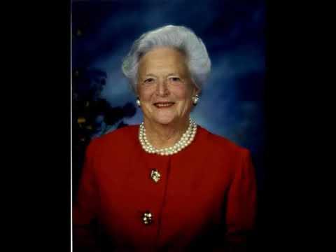 Barbara Bush on wikipedia