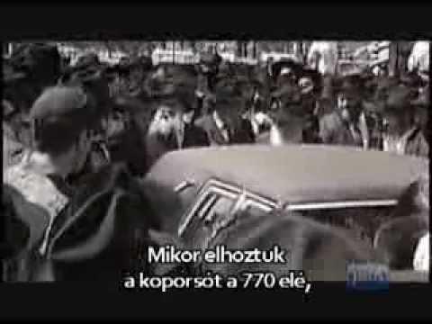 A Lubavicsi rebbe: Köszönetet mondani