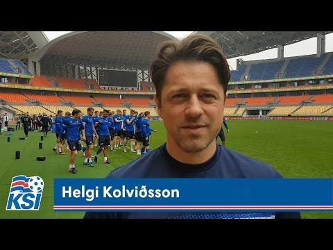 Helgi Kolviðsson: Vitum hvernig Lippi vill spila
