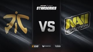 fnatic vs Natus Vincere, overpass, SL i-League StarSeries Season 3 Finals