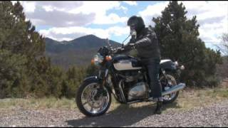 1. 2009 Triumph Bonneville SE - Test Ride
