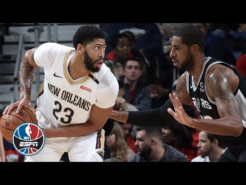 Video: New Orleans Pelicans vs. San Antonio Spurs | NBA Highlights