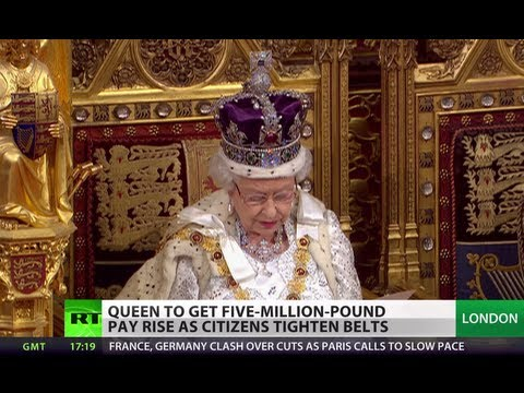 RussiaToday - The UK is staying committed to measures that reduce the country's deficit - the British Queen has laid out her government's agenda for the next year. In her ...