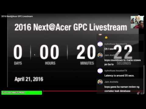 Next @ Acer Global Press Conference Live Stream (Commentary)