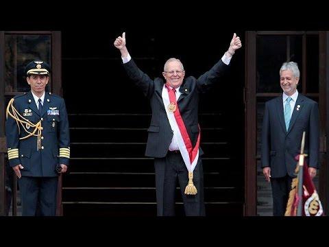 Περού: ορκίστηκε ο Πρόεδρος Κουτσίνσκι