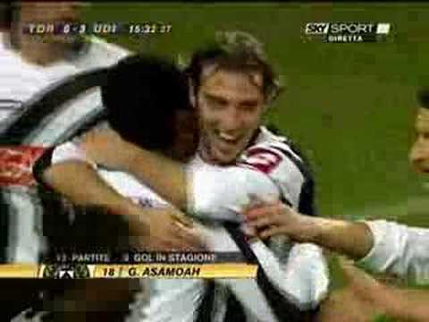 Gol de Gyan en el Udinese