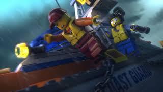 LEGO® City plajında sıcak bir yaz günü! Ancak ufukta fırtına görünüyor. Okyanusun derin bölgelerinden Sahil Güvenlik Merkezi' ne bir yardım çağrısı geliyor. Şimdi dalgalara göğüs germe zamanı!