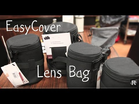 Ultimate Protection for DSLR Lenses - EasyCover Lens Bags - Review