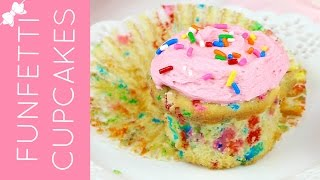 🎀RECIPE: http://www.lindsayannbakes.com/2017/04/video-best-funfetti-cupcakes-from.html🎀ALL-NEW VIDEOS: http://bit.ly/LindsayAnnBakesYouTube♡A quick, easy, homemade version of everyone's favorite cupcake, made from scratch. Who doesn't love funfetti cupcakes?! These moist, light, fluffy vanilla cupcake are bursting with bright rainbow sprinkles and topped with a sweet vanilla frosting and more sprinkles on top. Just like the box mix version you grew up on, but so much better. They have a nostalgic flavor with a hint of vanilla and the sweet almond extract, which gives them that little something extra. They are packed with festive sprinkles, perfect for any celebration.♡Have a video request that you would like to see? Let me know! Connect with me @LindsayAnnBakes to say hi & tag YOUR creations with #LindsayAnnBakes 🎀 FACEBOOK - lets be friends!http://www.facebook.com/LindsayAnnBakes🎀 INSTAGRAM - more behind the scenes!http://instagram.com/LindsayAnnBakes🎀 TWITTER - come tweet with me!http://twitter.com/LindsayAnnBakes🎀 PINTEREST - sweet inspiration!http://pinterest.com/LindsayAnnBakes🎀 BLOG - check out more of my recipes!http://www.LindsayAnnBakes.com🎀 FOLLOW ALONG - subscribe to get recipes in your email!http://bit.ly/LindsayAnnBakesEmailRecipes🎀 EMAIL - drop me a line!LindsayAnn@LindsayAnnBakes.com