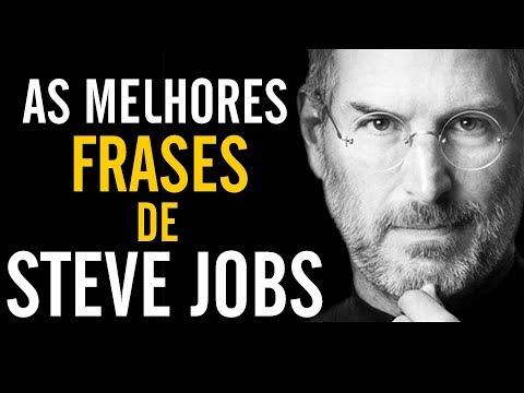 Frases de superação - As 10 Melhores frases de Steve Jobs / Motivacional / Dicas do Hermano