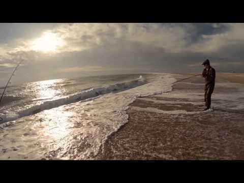 OBX Surf Fishing 2014 Fall Trip…Davis Island, Cape Lookout