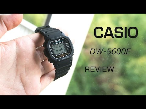 Casio G-SHOCK DW-5600E To 1V Review