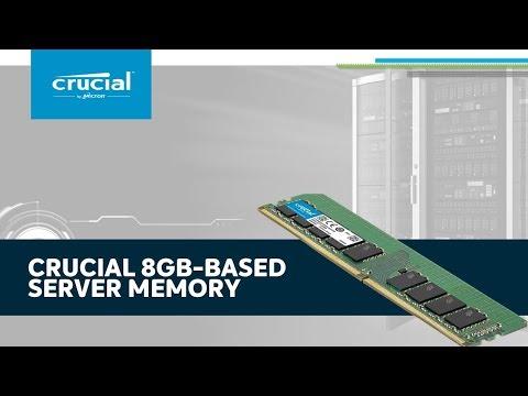 Crucial 8Gb-based server memory (RAM)