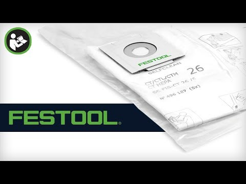 Festool Self-Cleaning Filter Bag
