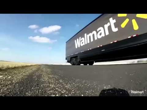Walmart'ın teknoloji harikası TIR'ı ile tanışın
