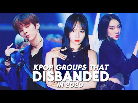 14 kpop groups that disbanded in 2020 (so far)