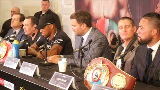 ANTHONY JOSHUA v JOSEPH PARKER PRESS CONFERENCE