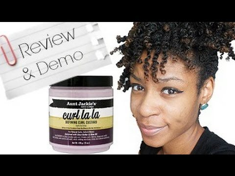 Aunt Jackies Curl la la Defining Curl Custard Review