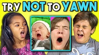 Video KIDS REACT TO TRY TO WATCH THIS WITHOUT YAWNING CHALLENGE MP3, 3GP, MP4, WEBM, AVI, FLV Desember 2017