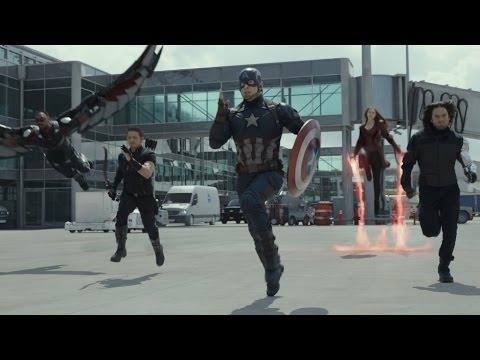 Captain America civil war trailer hd