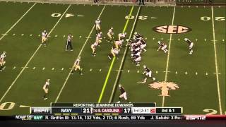 Marcus Lattimore vs Navy (2011)