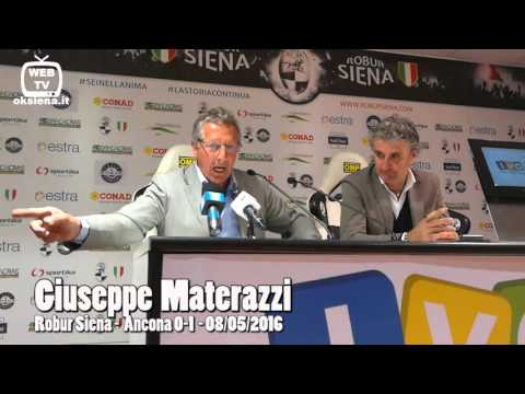 Giuseppe Materazzi - Robur Siena - Ancona - 08/05/2016