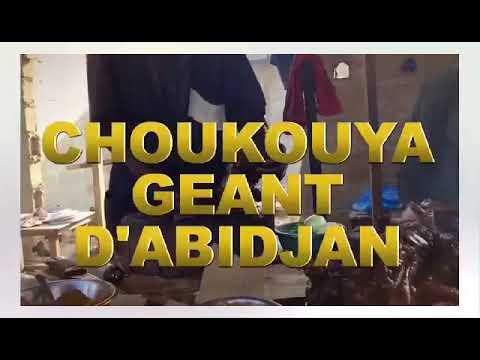 PUB  ANNONCE 1: CHOUKOUYA GEANT D' ABIDJAN   SUR CANAL MSA-TV