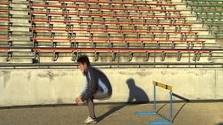 冬季トレーニング〜ハードル後転倒立〜
