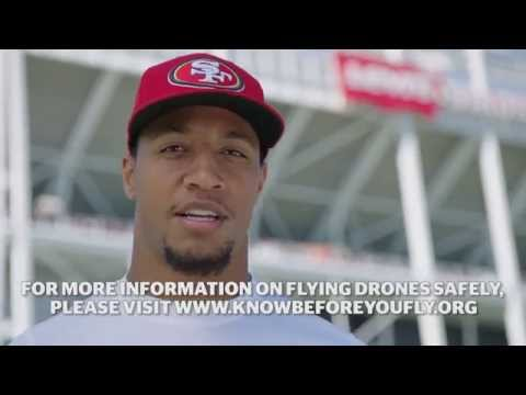 'Know Before You Fly': San Francisco 49ers promote drone safety