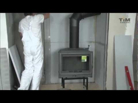 Jak wykonać obudowę kominkową przy użyciu płyt VARMSEN?