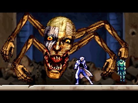 Castlevania Dawn of Sorrow - All Bosses (No Damage)