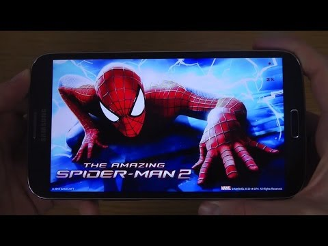 The Amazing Spider-Man 2 Samsung Galaxy Mega 6.3 HD Gameplay Trailer