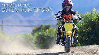 1. 2016 Suzuki DR-Z70 Review - MotoUSA