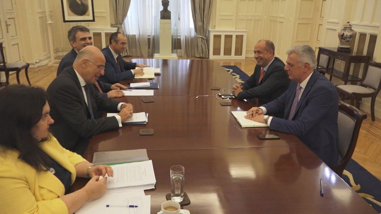 Ενημέρωση των κομμάτων για τη Συμφωνία Αμοιβαίας Αμυντικής Συνεργασίας Ελλάδας-ΗΠΑ(2)