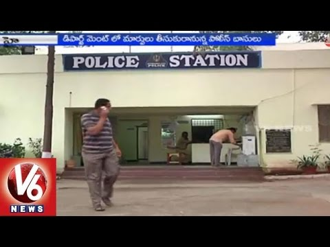 Hyderabad police concentrated on corrupted police 01032015
