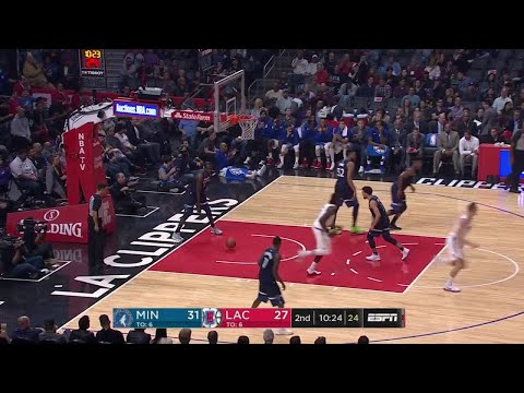 2nd Quarter, One Box Video: Los Angeles Clippers vs. Minnesota Timberwolves