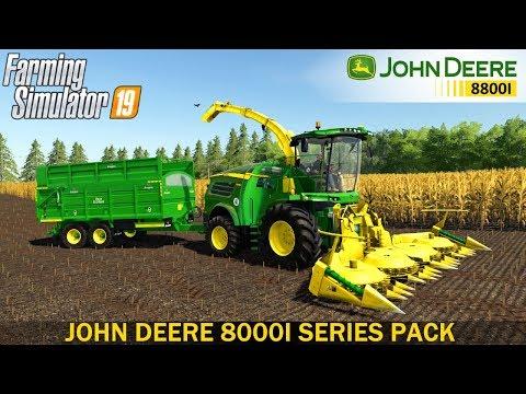 John Deere 8000i Series Pack v1.0.0.0