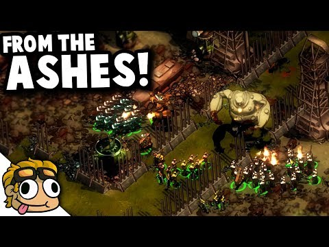 FROM THE ASHES CUSTOM CAMPAIGN MAP! | They Are Billions Gameplay