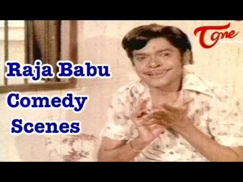 Raja Babu Comedy Scenes || Back To Back Best Comedy Scenes