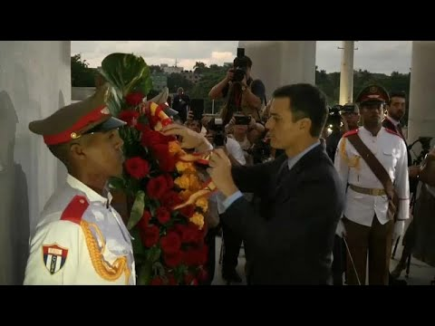 Spanien / Kuba: Pedro Sánchez bei 1. Staatsbesuch s ...
