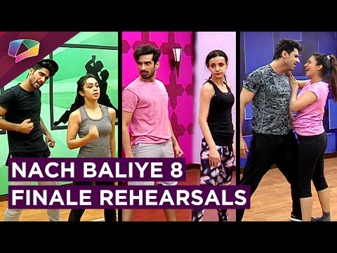 Nach Baliye 8 Finale Rehearsals Begin | Divek | Mo