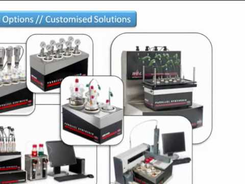 Parallel synthesis with HEL PolyBLOCK ~ Automated parallel chemistry block