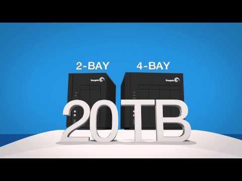 STDD200 Seagate NAS PRO - 2 Bahías - Intel doble núcleo a 1,7 GHz y 64 bits- RAM 2GB DDRIII