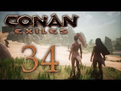 Conan Exiles - прохождение игры на русском - Носороги и слоны [#34] | PC